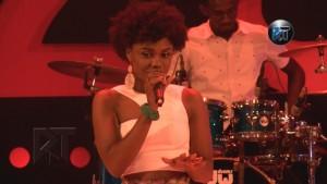 @beccafrica performs African Woman at Akosua Adjapong at 25 concert